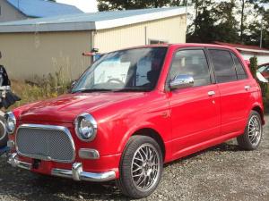 ダイハツ ミラジーノ ジーノ Sエディション 4WD 自社全塗装済 車検整備付