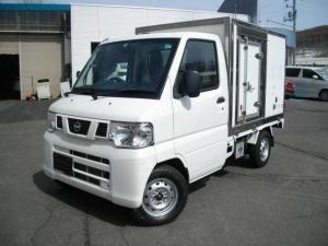 日産 クリッパートラック DX 4WD 保冷車 エアコン 5速マニュアル車