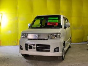 スズキ ワゴンR スティングレーX AT 4WD スマートキー 社外ナビ