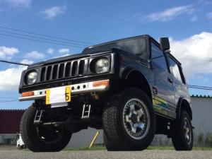 スズキ ジムニー 4WD ボディリフト 全塗装  社外グリル