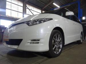 トヨタ エスティマ アエラス Sパケ 4WD 両側Pスラ HDDナビ 1オーナー