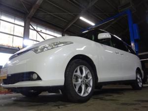 トヨタ エスティマ G 4WD ナビ 両側電動 F/S/Bカメラ パワーシート