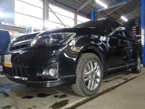 トヨタ カローラフィールダー 1.5G エアロツアラー・ダブルバイビー W×B 4WD SDナビ Bluetooth 地デジ ハーフレザーシート HID 寒冷地仕様