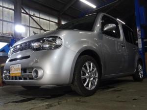 日産 キューブ 15X FOUR Vセレ 4WD ナビ DTV ガラスルーフ
