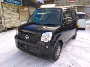 日産 モコ X FOUR 4WDバックカメラ付オーディオプッシュスタート