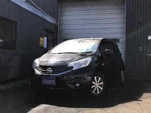 日産 ノート X FOUR 4WD ブレーキサポート ABS 盗難防止装置
