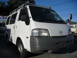マツダ ボンゴバン  5ドア 4WD エアコン ルーフキャリア