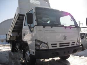 日産 アトラストラック  ワイドロング ダンプ 4WD 3.5t積