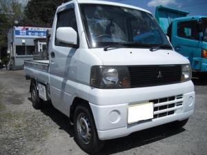 三菱 ミニキャブトラック  平トラ ローレンジ付4WD 5MT
