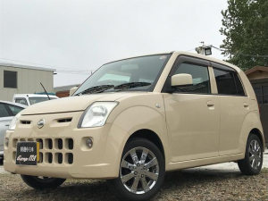 i日産 ピノ S FOUR・4WD・AT・保証付・社外アルミ