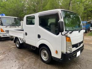 日産 アトラストラック WキャブフルスーパーローDX 4WD全低床ダブルキャブ  車検付!