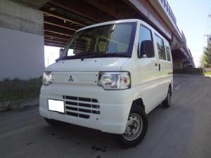 三菱 ミニキャブバン CD ハイルーフ 4WD 5速マニュアル ETC ABS