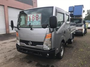 日産 アトラストラック 4WD 1150kgt積 Wキャブ AC PS PW