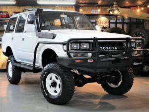 トヨタ ランドクルーザー80 STD 本州仕入 ARBバンパー ARBロックレール 角目四灯 リフトアップ STD