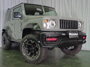 スズキ ジムニーシエラ JL ブラックバイソン WALDスポーツライン 4WD