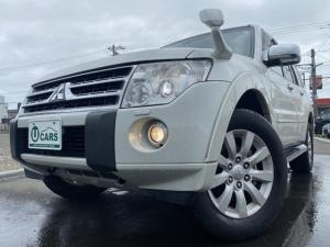 三菱 パジェロ ロング3.2Dターボ スーパーエクシード 4WD 黒革 本州