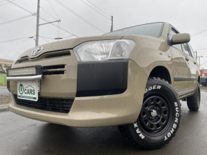 トヨタ サクシード UL バン1.5 4WD 2リフトUP 外SDナビTV ETC 全塗装済み