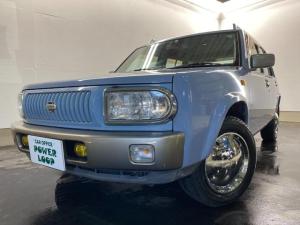 日産 ラシーン ft タイプII 4WD 1800cc フォグ ミラーキャップ 外装レストア済み リアスムージング 本州仕入
