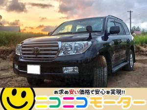 トヨタ ランドクルーザー AX Gセレクション 社外AW タイミングベルト交換済