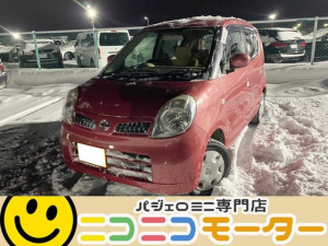 日産 モコ E FOUR 4WD インテリジェントキー