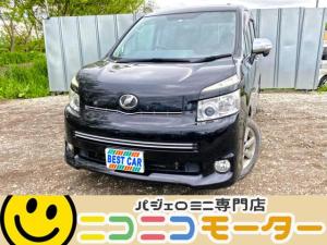 トヨタ ヴォクシー ZS 煌 4WD ワンオーナー TVナビ ABS 両側パワスラ バックモニター
