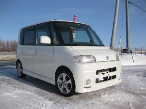 ダイハツ タント RS 本州仕入 寒冷地仕様 インタークーラーターボ 4WD