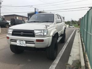 トヨタ ハイラックスサーフ SSR-X 4WD サンルーフ付き AW ボディリフト