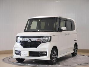 ホンダ N-BOXカスタム G・Lホンダセンシング 4WD バックモニター・ETC・LEDライト・フルエアロ付