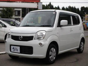 日産 モコ S FOUR 4WD ワンオーナー 寒冷地仕様 ドアバイザー シートヒーター プライバシーガラス