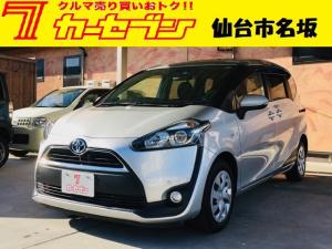 トヨタ シエンタ ハイブリッドG ETC SDナビ Bluetooth ワンオーナー 禁煙車 スタッドレスタイヤ シートヒーター