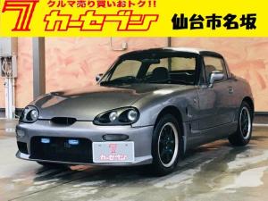スズキ カプチーノ ベースグレード eononオーディオ・YUPITERUポータブルナビ・ETC・スタッドレスタイヤ・オープンカー