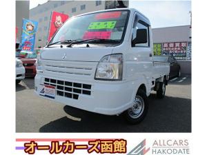 三菱 ミニキャブトラック みのり MT 4WD 届出済み未使用車 荷台ランプ