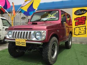 スズキ ジムニー ワイルドウインド 4WD AT 車検整備付き エアコン CD