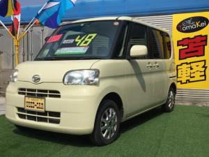 ダイハツ タント X 4WD スマートキー 寒冷地仕様 車検整備付 CD