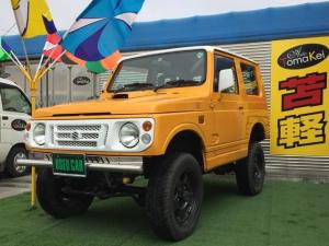 スズキ ジムニー HA 4WD MT 車検整備付き