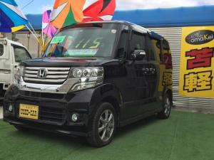 ホンダ N-BOXカスタム G・Lパッケージ 4WD スマートキー HID 車検整備付き
