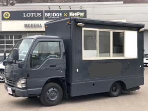いすゞ エルフトラック  キッチンカー オートマ 4WD