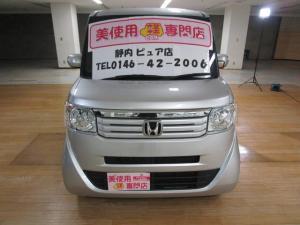 ホンダ N-BOX+  車イス仕様車 Gターボパッケージ 4WD