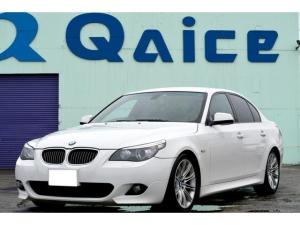 BMW 5シリーズ 525i Mスポーツパッケージ 修復歴無し スマートキー 黒革シート・ヒーター 純正ナビ 夏冬タイヤ付