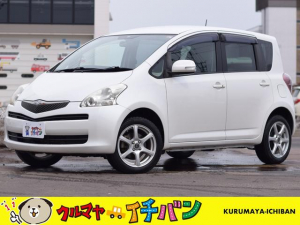 トヨタ ラクティス X Lパッケージ サビ無 USB音楽 Sキー 4WD スマートキー フルタイム4WD DVD再生可