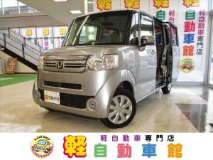 ホンダ N-BOX C ABS 衝減ブレーキ アイドルSTOP スマキー 4WD