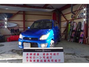 スバル プレオ RSリミテッドII 4WD 5マニュアル タイベル交換済み スーパーチャージャー ETC 夏冬タイヤ付き