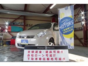 トヨタ パッソ X クツロギ 4WD/4年保証/オーディオCDデッキ/事故無/チェーン式