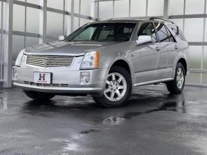 キャデラックSRX 3.6L 4WD 電動シート MTモード ETC シートヒーター 本革シート HIDライト 純正アルミホイール フォグライト