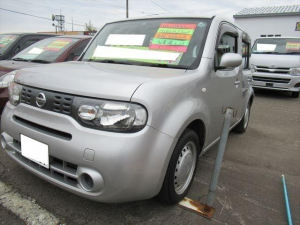日産 キューブ 15S FOUR 4WD ABS P/S P/W