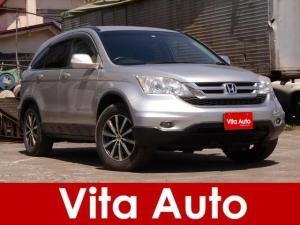 ホンダ CR-V X 4WD メモリーナビ フルセグ HIDヘッドライト Bluetooth USB AUX 純正アルミノーマルタイヤセット積込