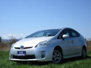 トヨタ プリウス S ハイブリッド スマートキー 低燃費エコカー 社外ナビTV
