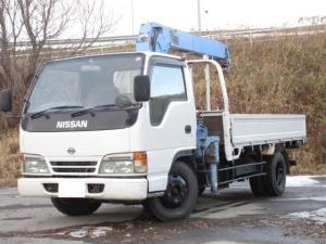 日産 アトラストラック タダノ3段クレーン ラジコン付 冬タイヤ装着済 フックイン