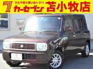スズキ アルトラパン G エディション 4WD ETC シートヒーター