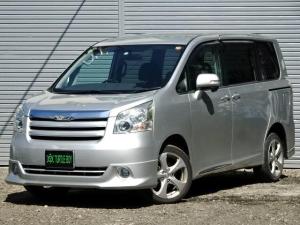 トヨタ ノア YY 4WD 5人乗 純正エアロ ナビ地デジ 寒冷地仕様